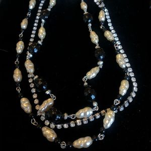 3 chain necklace